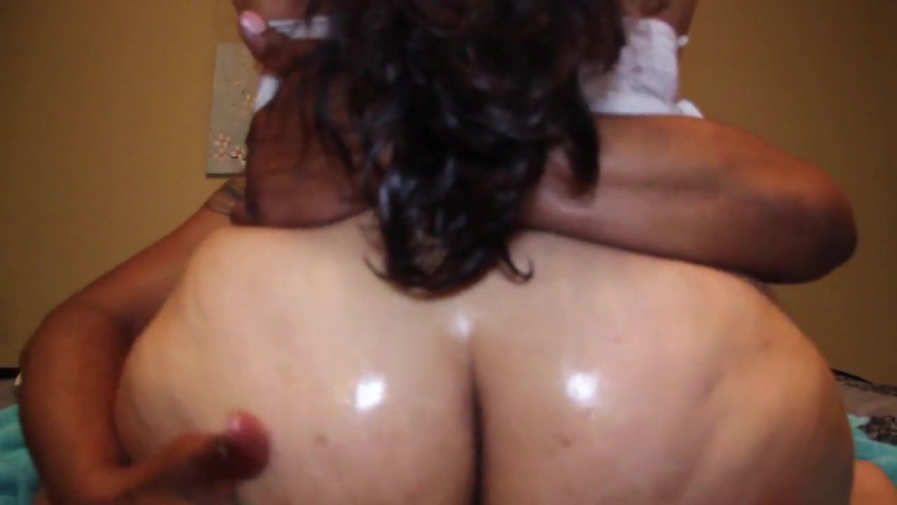 Latina Juicy Ass Cheeks Interrupted On This Tail