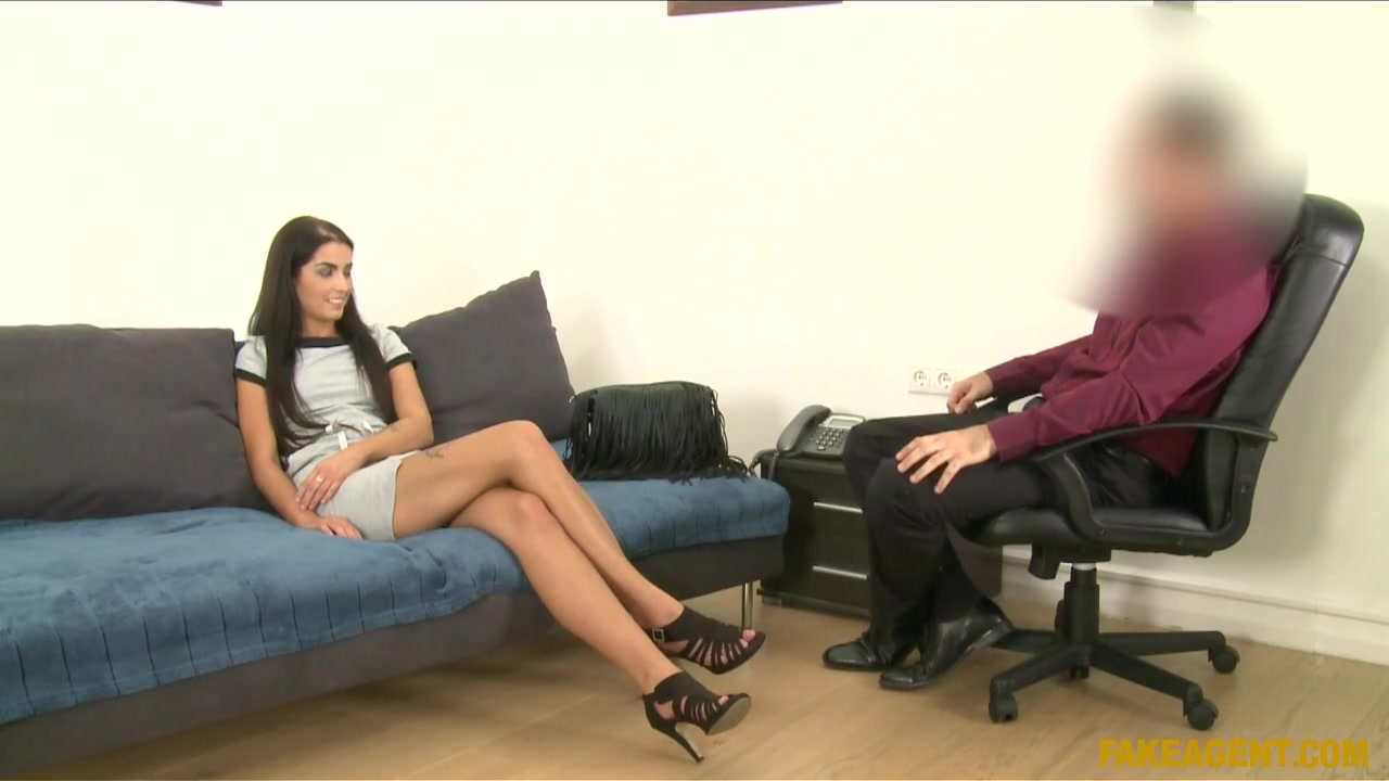 Laura In Skinny Secretary Goes All The Way In Casting - Fakeagent