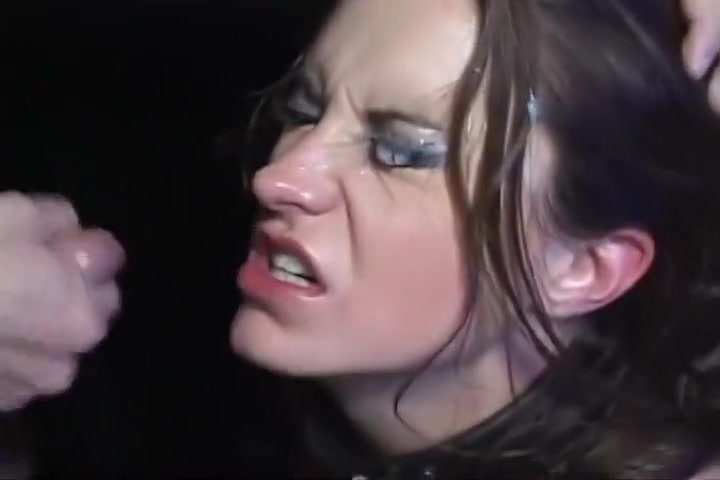 The Eyes Of The Tearful Oral Slut, Baked Together With Jism