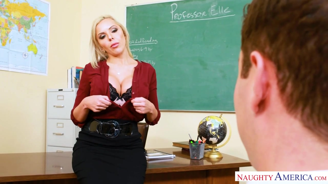 Nina She & Brad Knight In Myfirstsexteacher