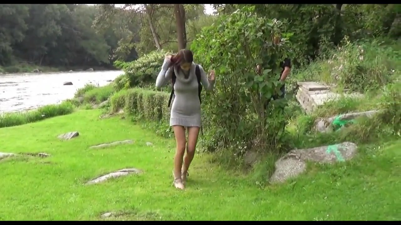 Asian Babe Fucking And Pissing Outdoors