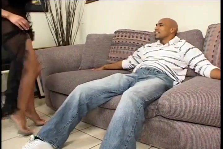 Hot Asian Milf Gives Black Guy Blowjob
