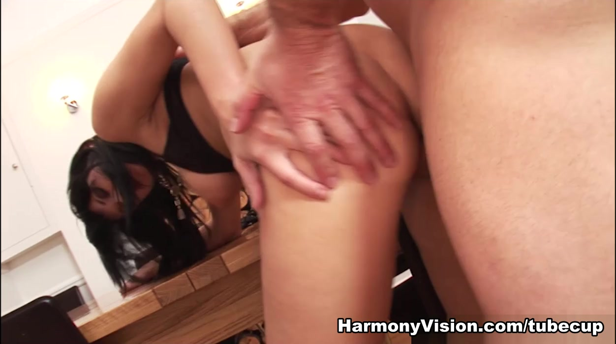 Black Angelica In Tables And Titfucking - Harmonyvision