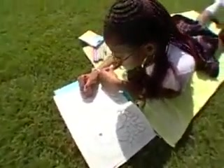 Black Schoolgirl Has Extracurricular Activities