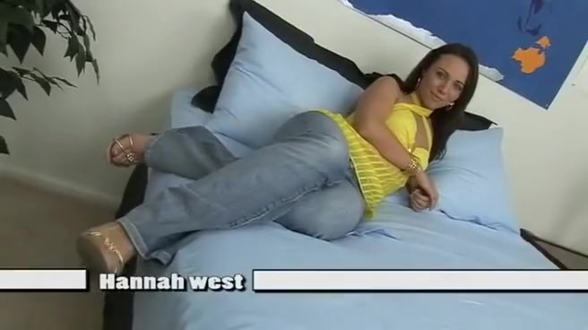 Hottest Pornstar Hannah West In Fabulous Brunette, Small Boobs Sex Video