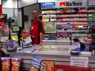 Black Shop Clerk Sucks White Cock On The Ebony Job