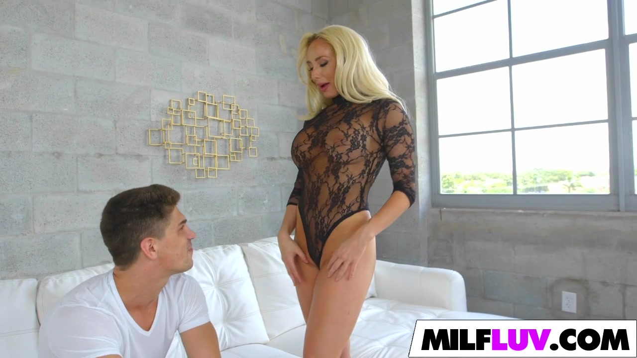 Stunning Blonde Milf Gets It Well