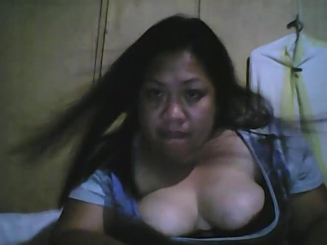 Filipino Ugly Big Fat Whore Showing Tits