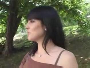 Brunette Fucks Publicly For Money