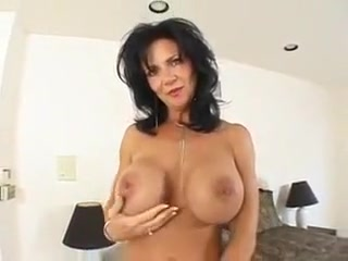 Busty Mother Gives His Sphincters