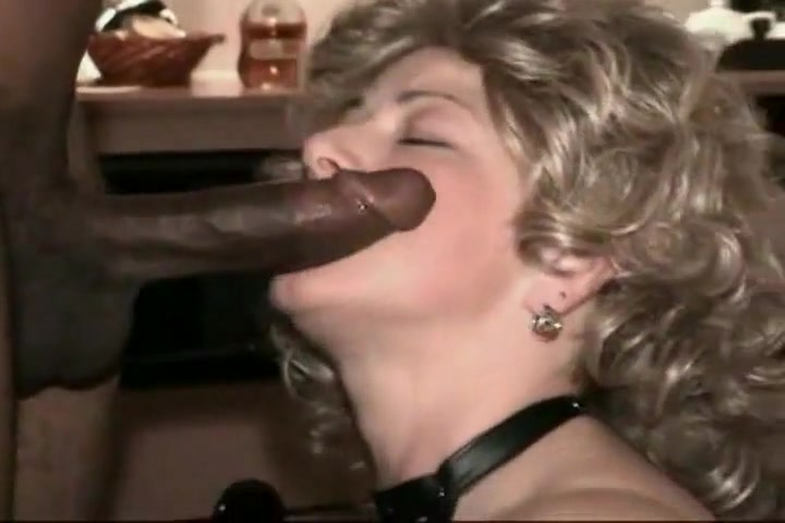 Blonde Woman Wanted To Try A Black Cock