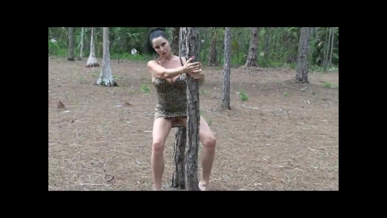 3 Bimbo Whores Fucked In The Woods