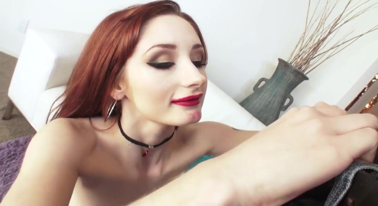 Ginger Takes Bbc All The Way Down His Throat