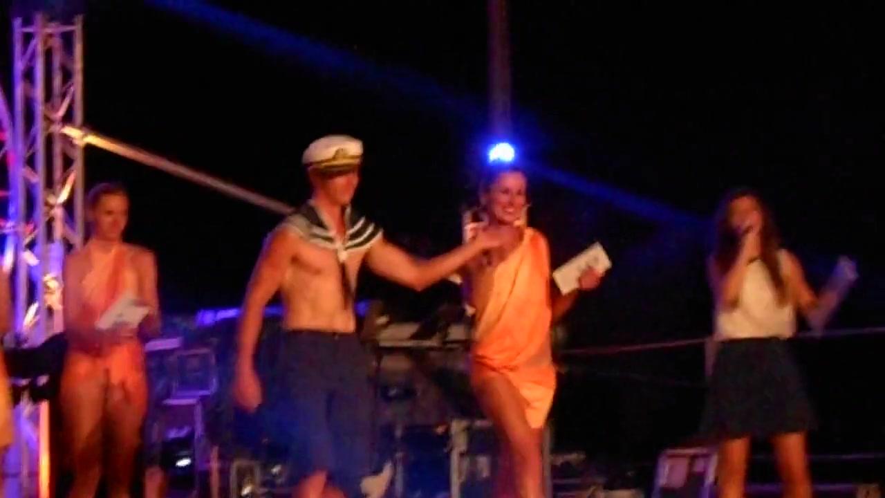 Nacktwettbewerb Koversada 2016 - 2