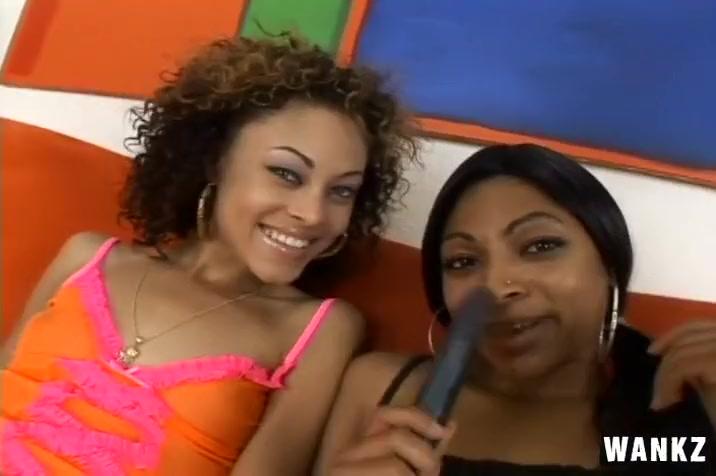 Cute Black Lesbians Whip Toys