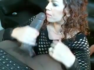 She Rides This Bbc Until It Squirts In Her Pussy