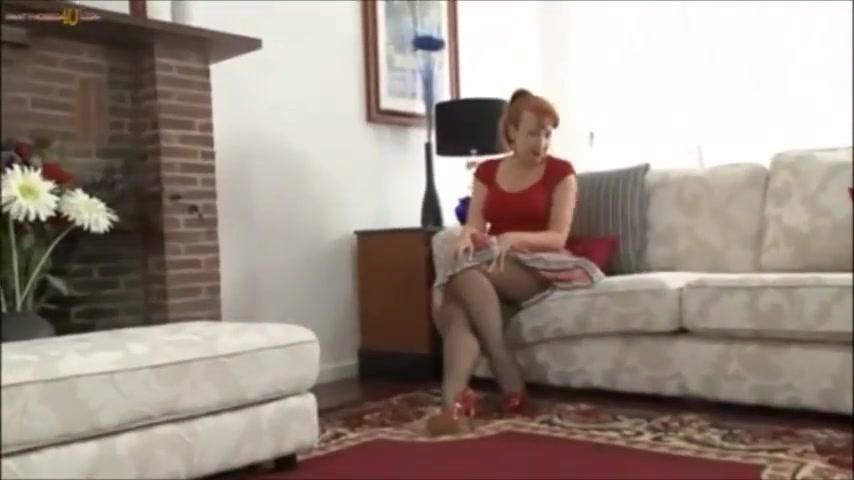 Wank Red Pantyhose