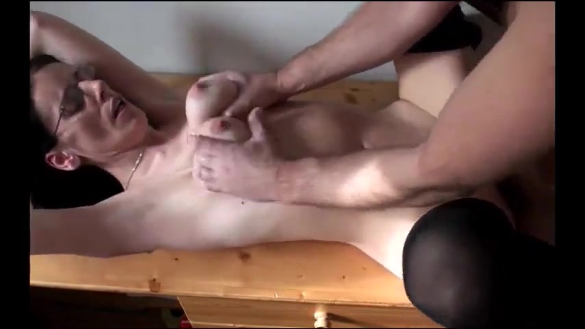Slut With Saggy Tits Gets Fucked Hard And A Facial