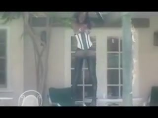 Bleached Black Milf Fucks Big White Cock Ebony
