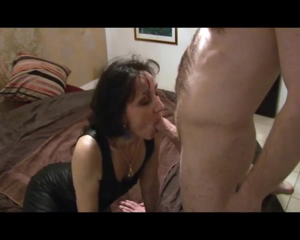 Mature Brunette Has It In Her Own Way