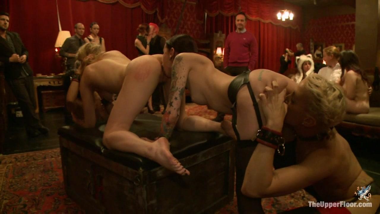 Krysta Kaos & Lily Labeau & Dylan Ryan & Beretta James & Derrick Pierce In Slave Initiation Piggy Part 2 - Theupperfloor
