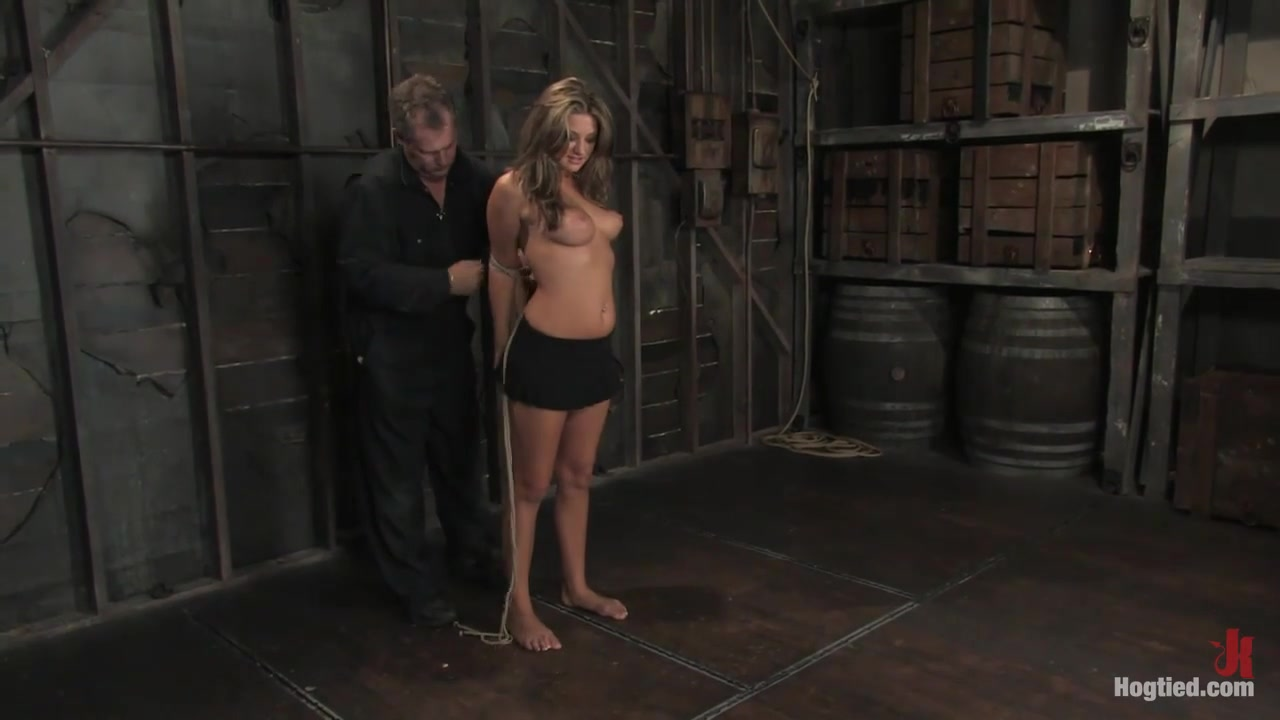 Carmen Mccarthy In 18 Year Old Carmen Mccarthy With Her First Bondage Experience. - Hogtied