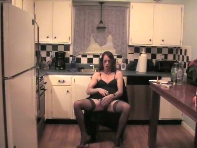 Amazing Amateur Shemale Video With Lingerie, Solo Scenes