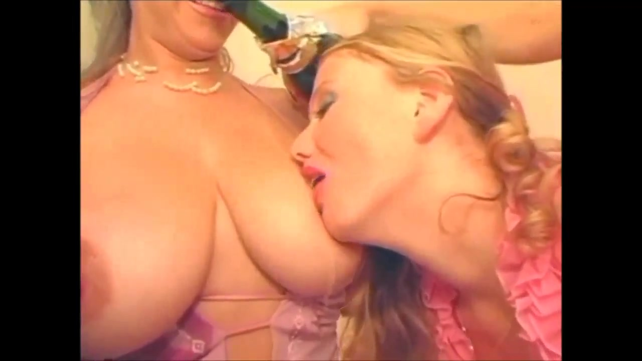 Big Tits Lesbians Fucking With Strap-On Ding-Dong