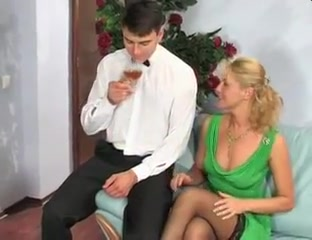 Blonde Milf Fucking Her Toy Boyfriend