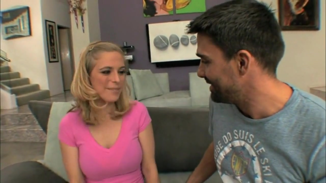 A Small Blonde Makes Anal With A Bbc.