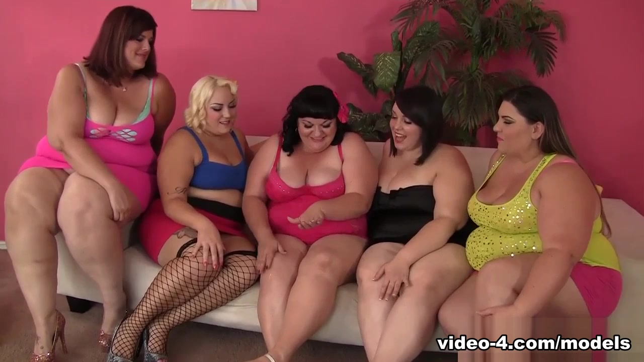 Alexxxis Allure & Bella Bidz & Erin Green & Jade Rose & Joanna Roxxx In 5 Plumpers Enjoying Lesbian Orgy - Jeffsmodells