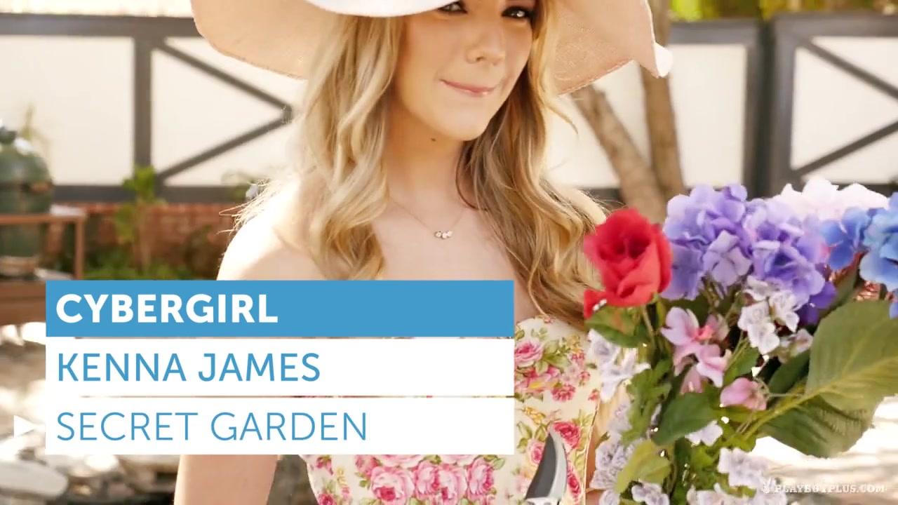 Kenna James In The Secret Garden - Playboyplus