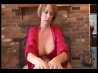 Mom Gives Her Young Handjob Relaxing