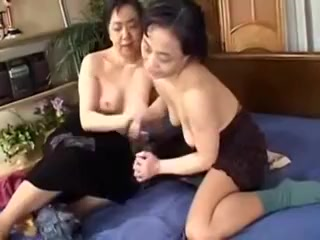Mature Japanese Lesbians Enjoy Each Other