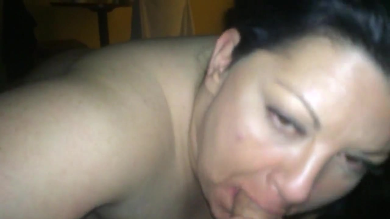 41 Years Old Sucks Cock And Gets Her Meatballs Covered
