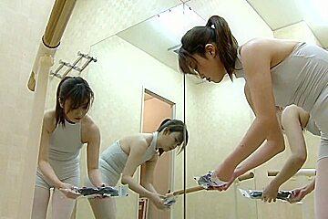 Girls wearing socks ass