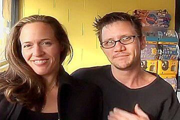 Brunette MILF Fucks As Husband Watches