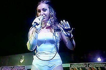 Denisa despa dancing in club