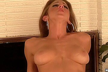 Kayla Page's Tits Sprayed With Hot Semen