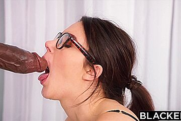 BLACKED Valentina Nappi takes biggest bbc in the world
