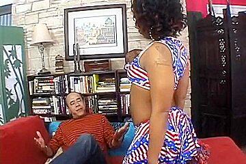 Horny pornstar Unique LaSage in fabulous blowjob, facial xxx video