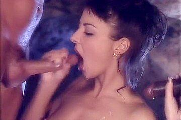 Fabulous pornstar Maria Bellucci in incredible small tits, brunette sex movie