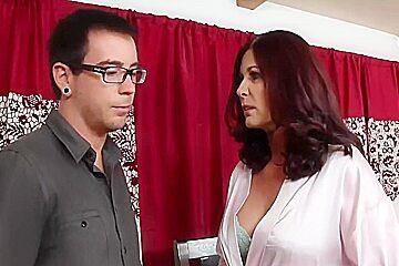 Horny Brunette, Big Butt porn video