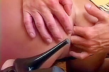 Amazing blonde gets stuffed at both ends