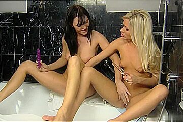 Sandra Sanchez and Laura Crystal have always enjoyed lesbian sex, and today theyre