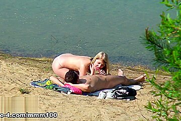 Spied Having Sex At The Beach - MMM100