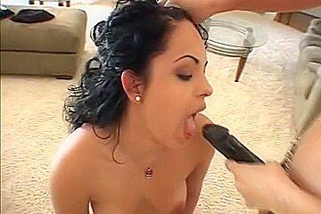Best pornstars Valerie Vasquez and Victoria Sweet in exotic strapon, tattoos adult movie