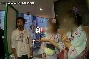 Crazy Japanese model Saki Kozakura, Miku Fujii, Chika Arimura in Exotic JAV movie