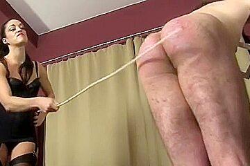 Amazing homemade Femdom, Lingerie xxx clip
