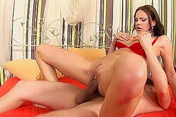Amazing pornstar Abbie Cat in exotic brunette, big tits sex video